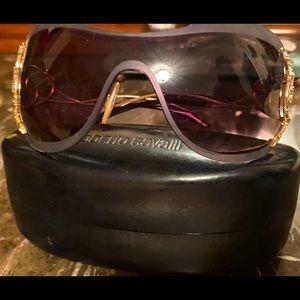 Roberto Cavalli 💯 Ath Swarovski snake sunglasses